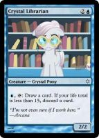 Crystal Librarian by ManaSparks