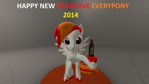 HAPPY NEW YEARS EVERYPONY by X-Flame-Dancer-X