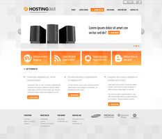 Simple hosting layout by mynameisfredrik