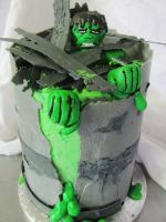 The Incredible Hulk by I-am-Ginger-Pops