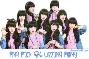 [PNG PACK #6] Ulzzang Pony by daran2000