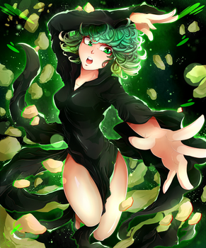 Little Tornado: Tatsumaki by Invidiata