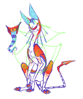 Crowned Clown Cat Adoptable I guess?? CLOSED by WellHidden