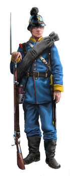 Bavarian infantryman - 1870-1871 summer outfit by ManuLaCanette