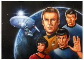 Star Trek - The Original Crew by Chrisroma