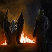 Facing a Demon by LordKvitte