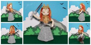 The Crocheted: Jadis, White Witch by janey-in-a-bottle