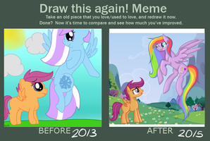 Before And After Meme by Cheshires-Palace