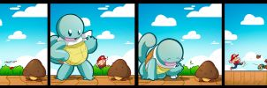 Squirtle: Mistaken Identity by SHIBUYA401