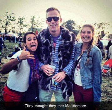 they thought they met Macklemore... by o-n-e-deee