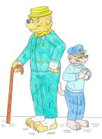 Berenstein Bears' Bad Boys by Jose-Ramiro