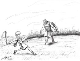 David VS. Goliath by Ben-G-Geldenhuys