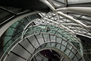 London City Hall staircase by yanism