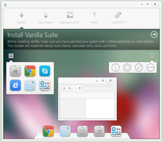 Vanilla Control Center, dock, icons, and more! by link6155
