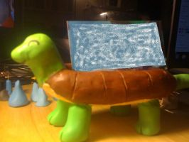 Clay Turtle Card Holder by UntouchedRayne