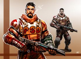 PSD guy by njay