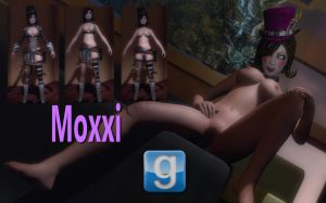 SYSK's Nude Moxxi With Bodygroups Release For GMod by Rastifan