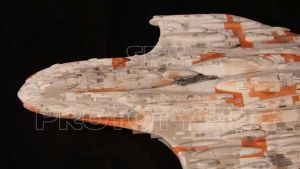 Mon Calamari Cruiser model kit by srspicer