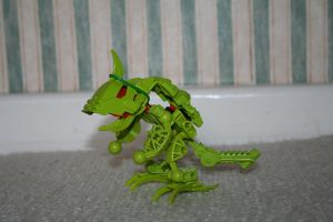 Bionicle MOC: Baby Air Dragon by Rahiden
