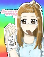 Keep calm and draw by ForeverWrong