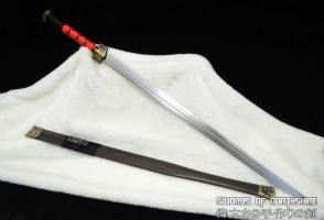 Double-Edged Chinese Jian Sword 6 by swordsofnorthshire
