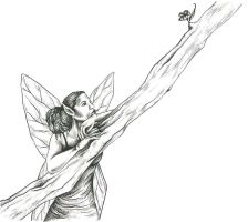 Fairy from The middle Kingdom by purfectillustrator