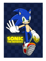Chaos Emeralds: Sonic by Kellkie