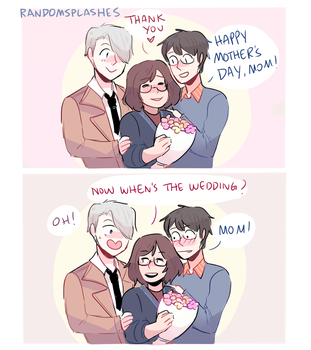 YOI: HAPPY MOTHER'S DAY by Randomsplashes