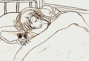 Sleeping with your idol  :P by princesskaoru
