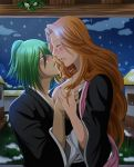IsaRan: Xmas Kissu under the mistletoe. by Jusace
