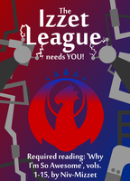 Izzet League poster by adrius15