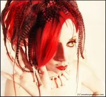 . cherry lips . by Countess-Grotesque