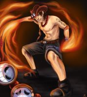 One Piece - Portgas D. Ace by Prof-Dr-Dr-Weird