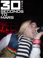 Jared Leto-30 Seconds to Mars by pixeltrip