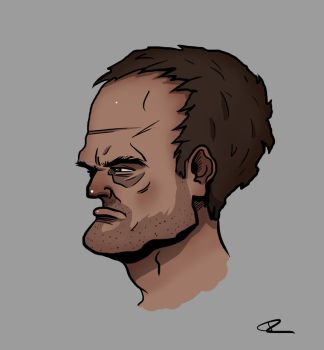 Side Face Drawing Youtube Video by ThijsRozema