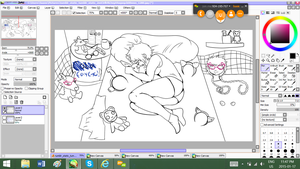 A Young Lady Crys In Her Room Wip by RainbowCoffeeQueen