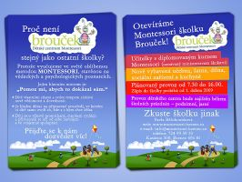 Montessori flyer 2 by YannisZA