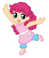 My Little Chibi Pinkie Pie by CardcaptorKatara