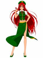 Touhou - Meiling by EternalSaber