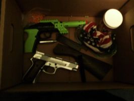 MY AIRSOFT STUFF!!!!!!!!! by Jaws1996