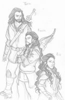 The Royal Dwarf Siblings by Rivaldiart