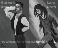 Lara and Nathan by adamlara