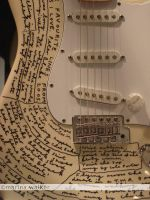 Peter Blake Fender Guitar by MarinaWalker