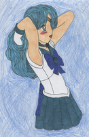 Sailor Neptune by Rhythm-Wily
