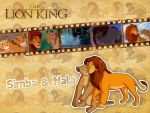 Simba and Nala | TLK - Wallpaper by Howie62