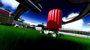 Wallpaper TrackMania Grass by GraphAndStyle