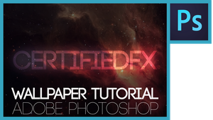 PS Tutorial | How to Make a Nebula Wallpaper by CertifiedFX