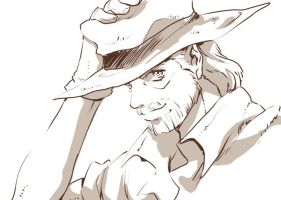 JJBA Old Joseph by george-george