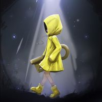 'SIX' - Little nightmares fan art (reworked) by iskuroi-chi