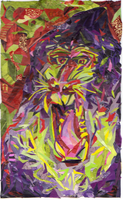 Mandrill Baboon by Silent-Pea